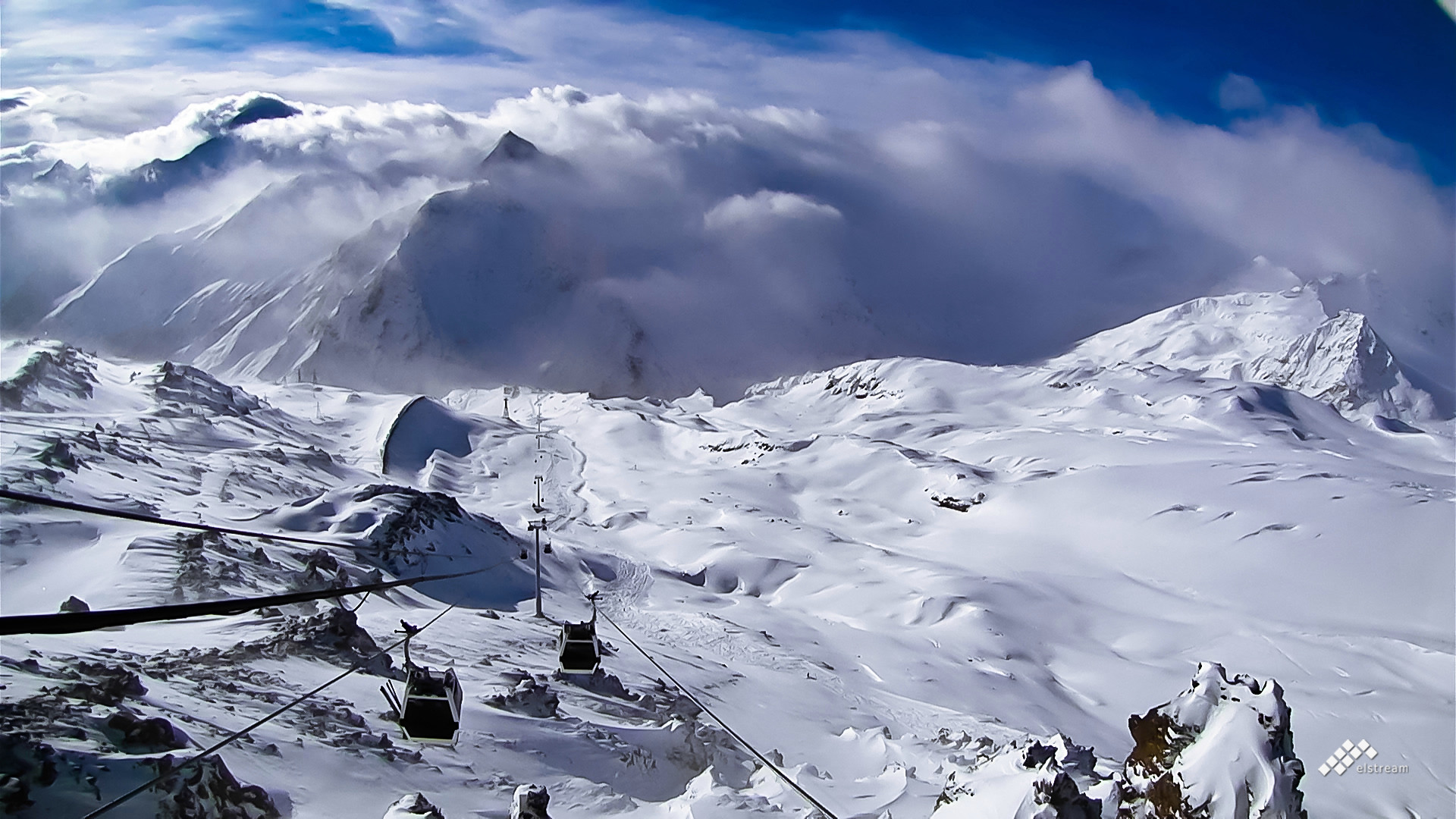 DESCRIPTION OF ELBRUS AND CHEGET SKI & SNOWBOARD ROUTES